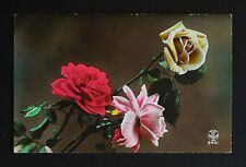 WW1 Postcard OAS Soldier Flowers Shipton Bellinger Hampshire