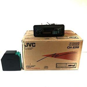 JVC 12 CD Automatic Changer CH-X99 + KS-RT220 Cassette Stereo Receiver Tape Deck