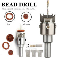 Multifunction Ring Buckle Drill Tool Cutter Wooden Drill Bit Thick Ring Maker