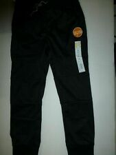 Jumping Beans Boys Black Slim Fit Tricot Jogger Pants with Pockets New Size 5