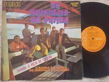 OS ORIGINAIS DO SAMBA - O Samba É A Corda...Os Originais A Caçamba BRAZIL RCA LP