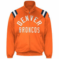 Denver Broncos NFL G-III Men's -Center Field- Retro Track Jacket Size M