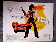 Cleopatra Jones 22 x 28 Half Sheet Movie Poster BLAXPLOITATION Tamara Dobson 73