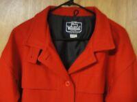 Woolrich Women's Red Wool Vintage Jacket, Size M