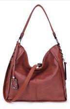 Womens Tan Brown Hobo Bag