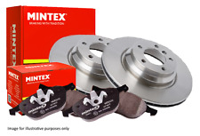 HONDA CRV MK2 MINTEX REAR BRAKE DISCS & PADS 2005> + ANTI-BRAKE SQUEAL GREASE