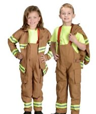 Aeromax Get Real Gear Firefighter Costume 4-6 Nwt