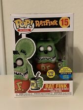 New listing Funko Pop! Icons - Rat Fink #15 (Gitd) - Sdcc 2019 Toy Tokyo Exclusive