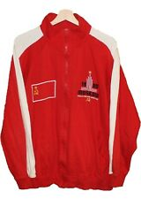 1980 MOSCOW Olympic Games USSR Russia Jacket Tracksuit VOLUNTEER  size XL Tricot