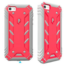 Full Coverage Shockproof Cover Case For iPhone SE / iPhone 5S / iPhone 5 Pink