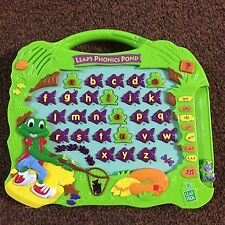 Leap Frogs Leap Phonic Pond Works Teaching Learning Children School