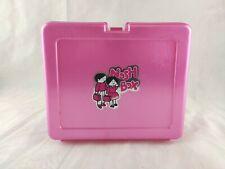 Vintage 1980s Nosh Box Lunch Box Pink Bluebird Toys