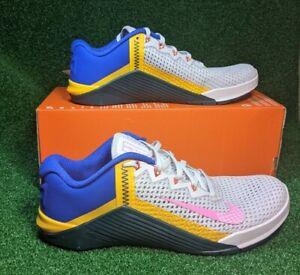 Nike Women's Metcon 6 Vast Grey Atomic Teal AT3160-064 Size 9