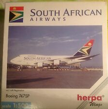 BOEING 747SP SOUTH AFRICA AIREAYS - scala 1/500 HERPA (511872)