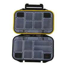 Waterproof Fishing Assorted Tackle Carry Box Lure Bait Hook Accessories Case