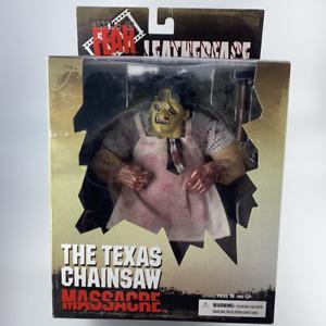 Leatherface Texas Chainsaw Massacre Action Figur Mezco 22 cm