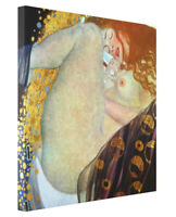 Gustav Klimt Danae Fine Art Print on Canvas Reproduction Gallery Wrap Giclee
