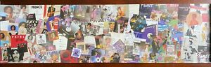 """Prince 8""""x29"""" Promo Poster for Ultimate Prince Collection (2006) Excellent Shape"""