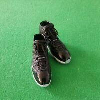 TB67-01A 1//6 Scale Dr.Figures Black Shoes 5pcs