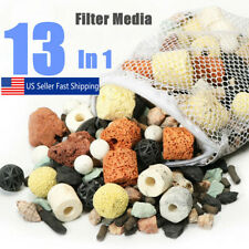 500g/Bag 13 In 1 Aquarium Fish Tank Pond Biological Ring Bio Ball Filter