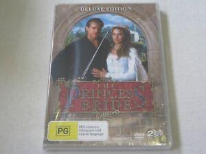 The Princess Bride - 2 Disc - Brand New & Sealed - Region 4 - DVD