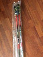 Leki Ski Poles Venom Carbon 120cm-Racing Trigger S straps INCLUDED!NEW