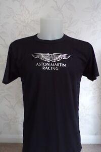 ASTON MARTIN RACING SILVER LOGO T SHIRT WOMENS XL - LAST ONE IN STOCK