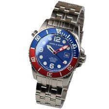 Marc & Sons Professional Automatic 984 4/12ft Divers Watch Men's Msd-035