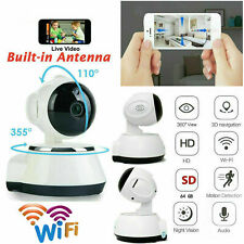 TELECAMERA IP CAMERA HD WIRELESS LED IR LAN MOTORIZZATA WIFI RETE INTERNET