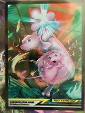 Sleeve Mewtwo Mew protege carte Pokémon deck shield card