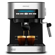 Machine cafetière à café moulu pour expresso avec buse vapeur pour mousse à lait