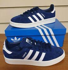 Adidas Originals CAMPUS Junior/Kids BZ0086 Navy Blue/White UK 3.5 NEW IN BOX!