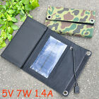 5W/7W/10.5W/14W/21W Foldable Solar Panel Charging Bag Portable Charger Pack Kits