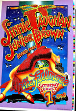 JIMMIE VAUGHN & JUNIOR BROWN PROOF- FILLMORE 1998 - ORIGINAL POSTER RARE
