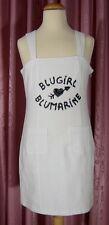 maritimes  KLEID ☺ weißes Waffelpiquet Kleid mit breiten Y-Trägern  Gr. 34 *TOP*
