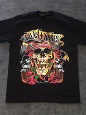 Guns N Roses - Black Printed Cotton T-shirt   M, L, XL