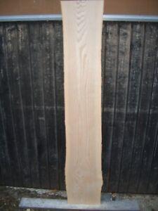 20 mm deutsche Esche Brett gehobelt 1,55 m / 22 cm kammertrocken