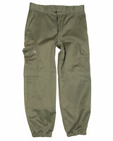 Ladies French Army F1/F2 Field Pants Olive Drab Parachute Combat Trousers