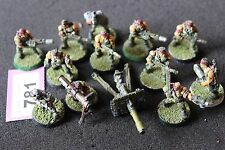 Games Workshop WARHAMMER 40k Catachan Jungle COMBATTENTI Esercito Guardie Imperiali in metallo