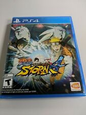 Naruto Shippuden: Ultimate Ninja Storm 4 (Sony PlayStation 4 PS4 2016) NO MANUAL