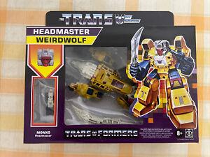 Transformers G1 Retro Headmaster Weirdwolf