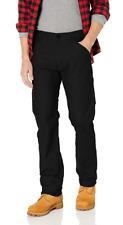 Levis Workwear Pants Men's 505 Regular Fit Stretch Jeans, Black, 40 X 30