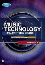Edexcel AS/A2 Music Technology Study Guide by Jonny Martin Paperback - V. Good