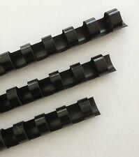 "5/8"" Plastic Binding Combs - ""BLACK"" - Set of 25"