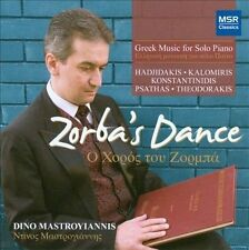 NEW Zorba's Dance: Greek Music for Solo Piano (Audio CD)