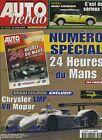 AUTO HEBDO n°1293 du 6 Juin 2001 24 h du MANS CHRYSLER LMP MINI COOPER