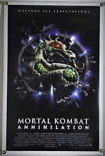 MORTAL KOMBAT: ANNIHILATION DS ROLLED ORIG 1SH MOVIE POSTER VIDEO GAME (1997)