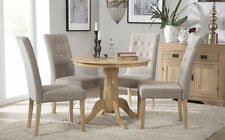 Oak Up to 4 Unbranded Contemporary Kitchen & Dining Tables
