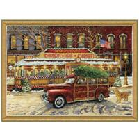 Design Works™ Route 66 Christmas Counted Cross-Stitch Kit