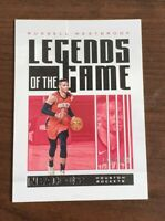 Russell Westbrook Houston Rockets Panini NBA Hoops Legends Numbered 118/699 Rare